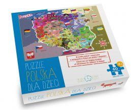 Puzzle Polska dla dzieci